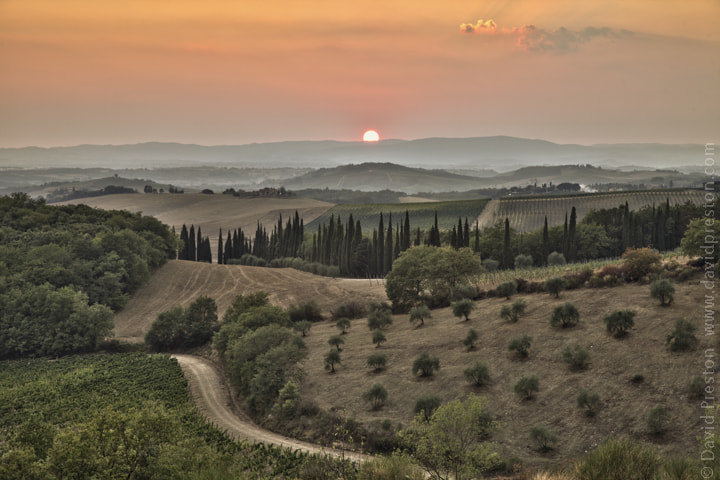 Photograph Tuscan countryside by David Preston on 500px