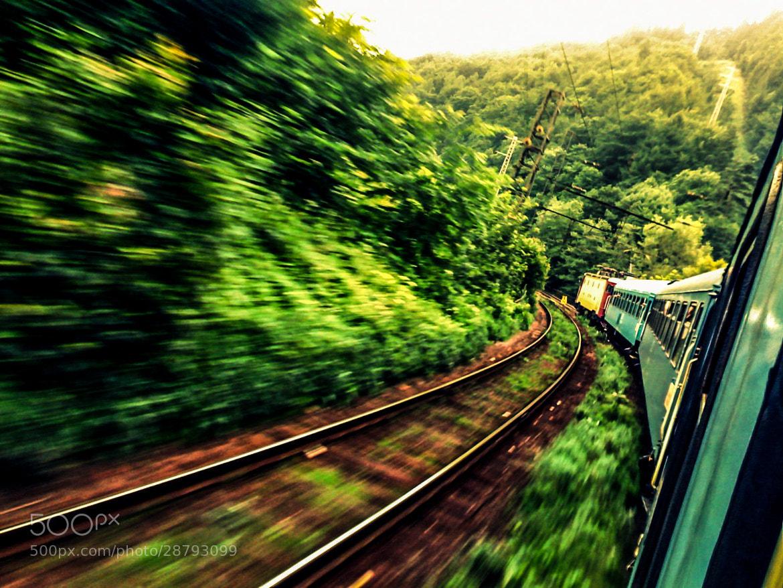 Photograph Runaway train by Dan Alexandru on 500px