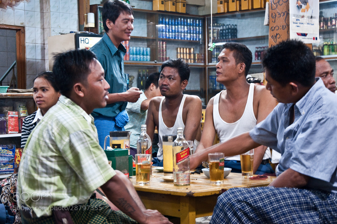 Photograph If you want to drink in Mandalay ( Burma ) by Nabil BACHIR-CHERIF on 500px