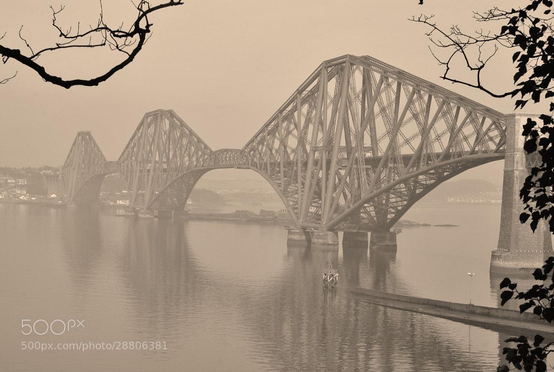 Photograph Forth bridge. Edinburgh. by davelally03 on 500px