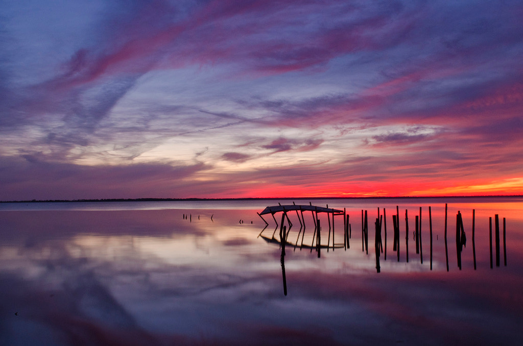 Photograph Fisher Landing Sunset by David Knopfler on 500px