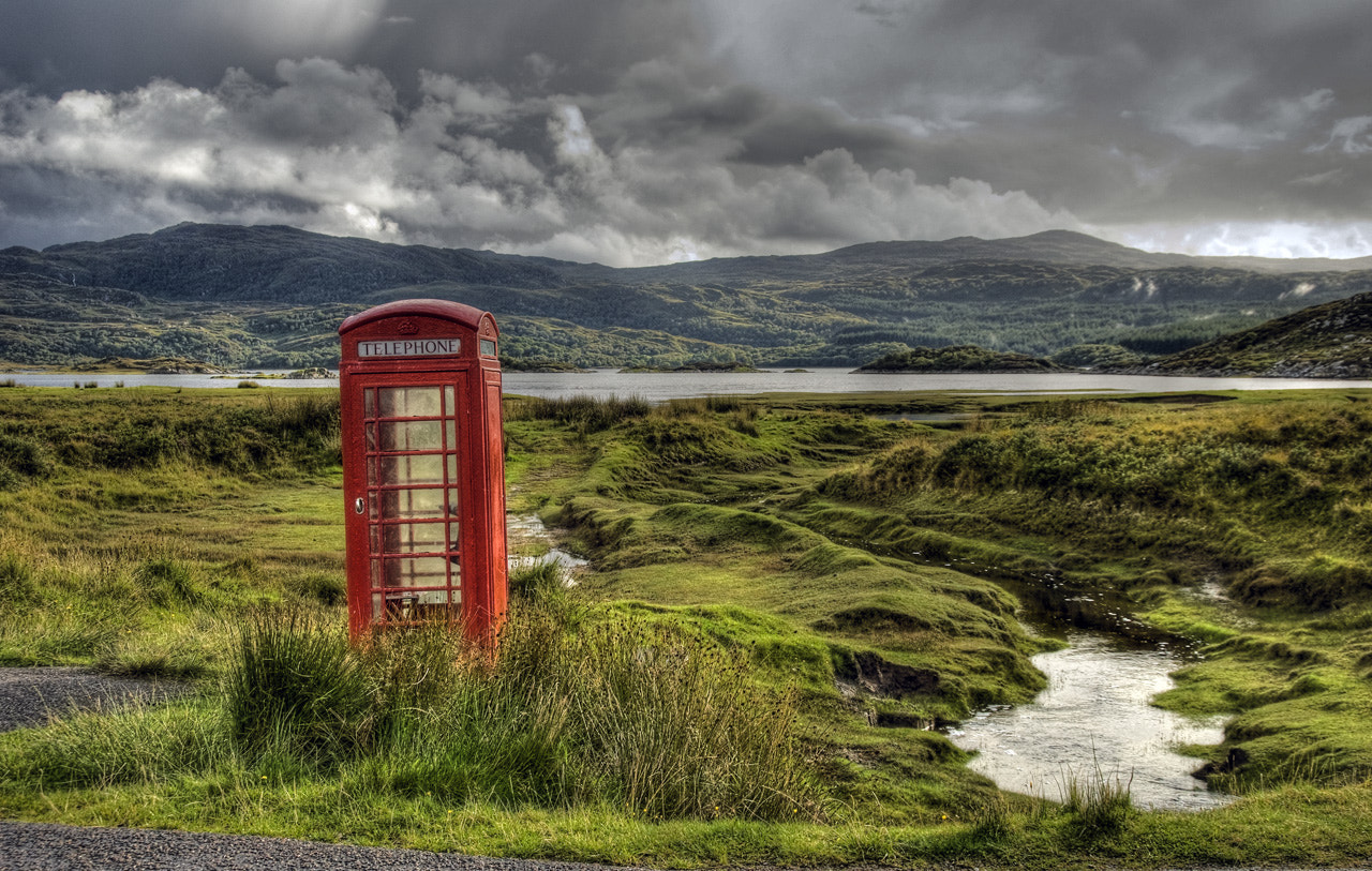 Photograph Islay Phone Booth by David Knopfler on 500px
