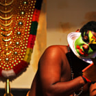 ������, ������: {Kathakali make up}