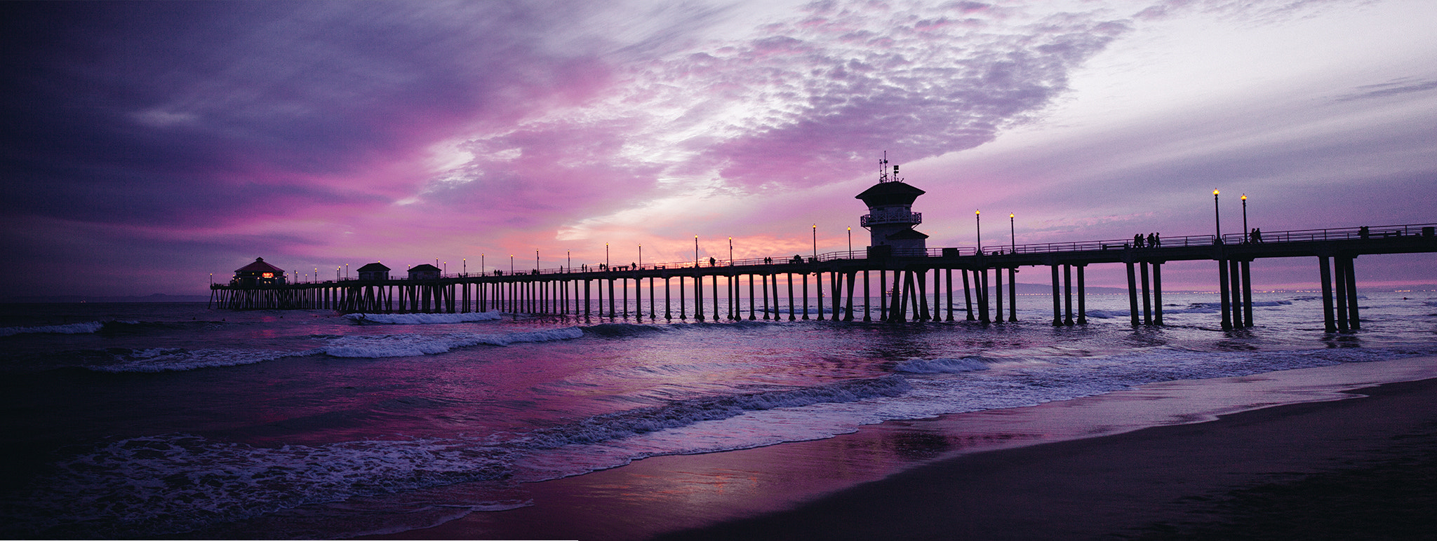 Photograph Sunset At Huntington Beach CA by Chris Lambeth on 500px