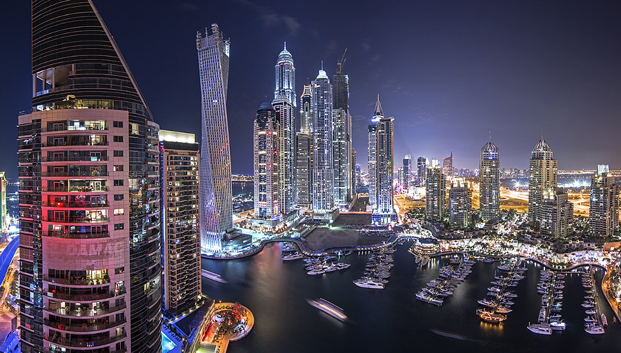 Photograph Pano Marina by Alisdair Miller on 500px