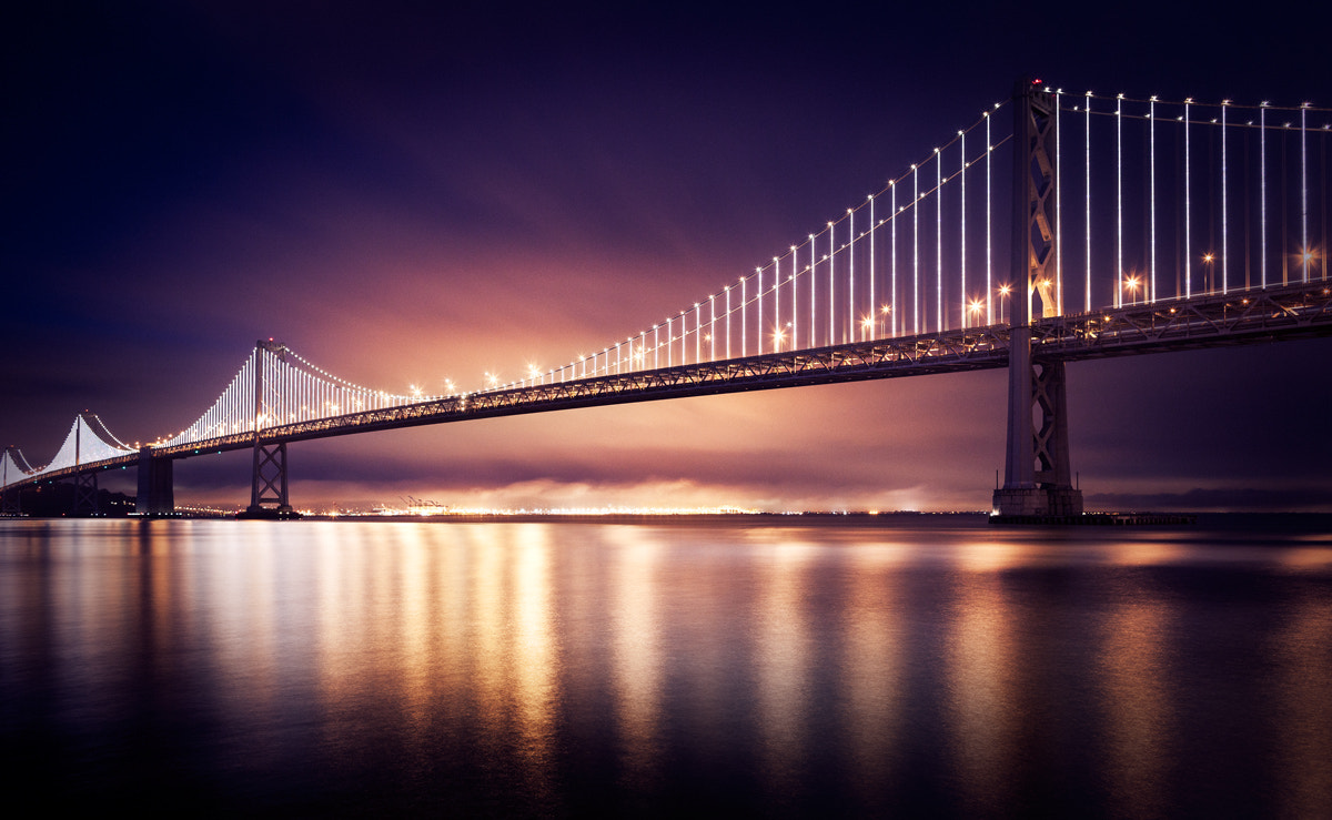 Photograph The Bay Lights by Eric Herrmann on 500px