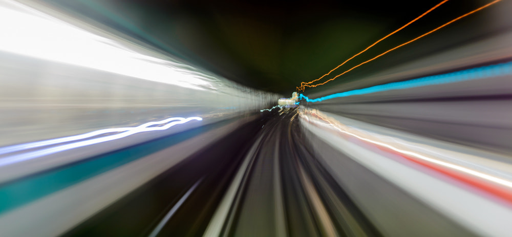 Photograph Lights from the subway #3 by Vino Photography on 500px