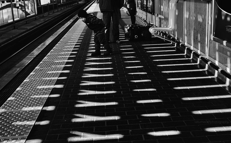 Photograph Anticipating the Train by Tatum Wulff on 500px