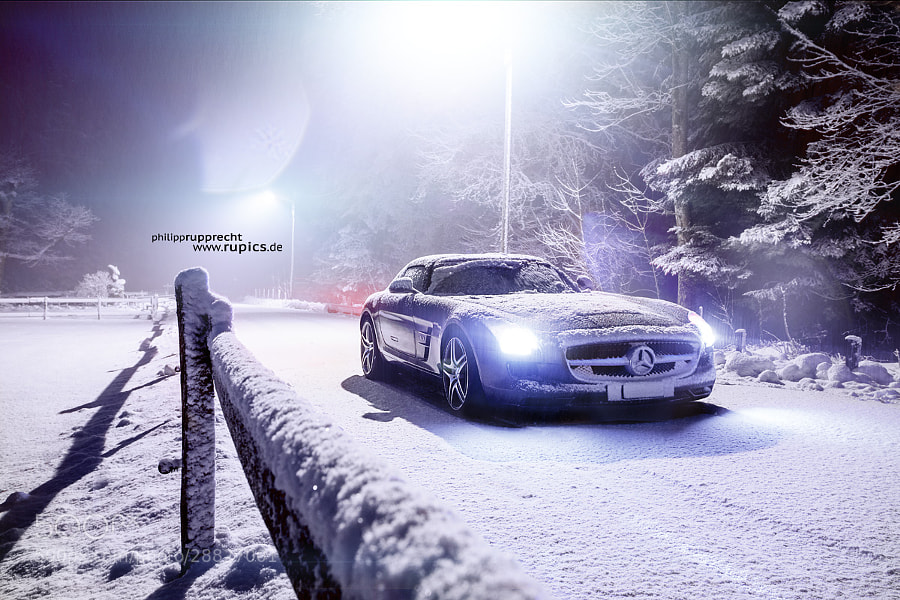 Photograph Mercedes SLS AMG  by Philipp Rupprecht on 500px