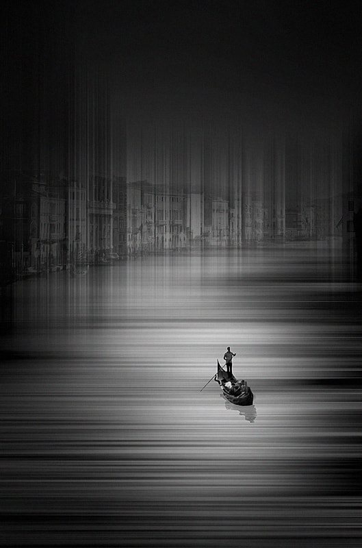 Photograph venice b&w by Max Ziegler on 500px