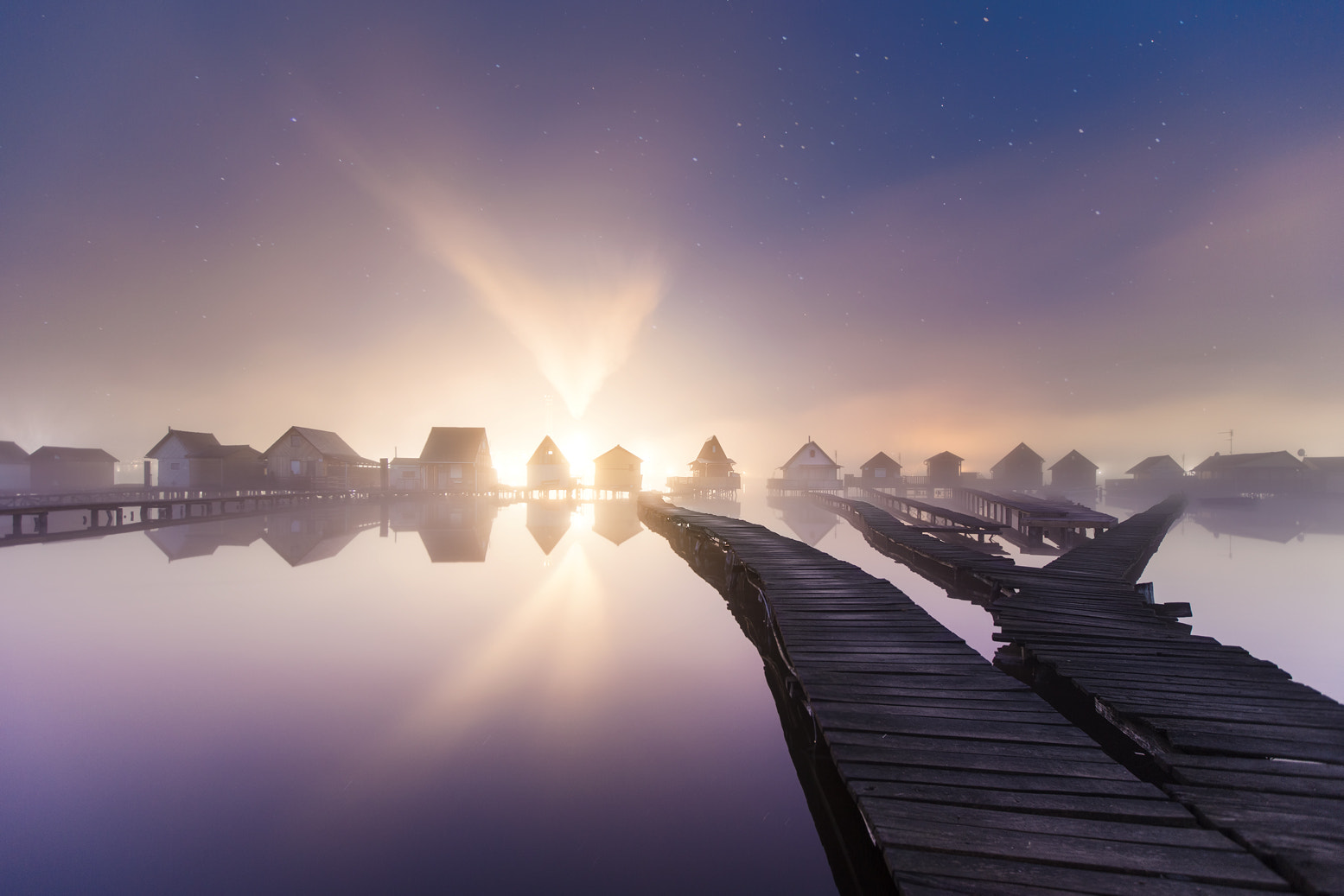 Photograph In The Morning Mist  by Lucas Portee on 500px