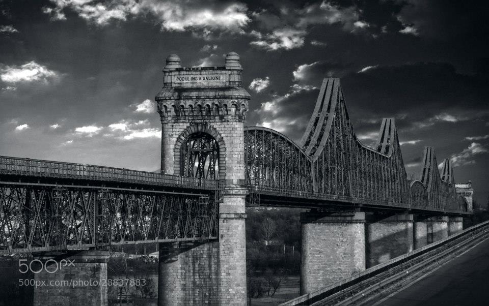 Photograph ANGHEL SALIGNY BRIDGE by Adrian Penes on 500px