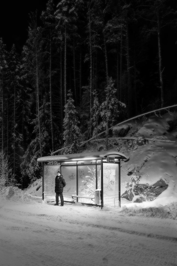 Bus Stop by Jukka Laitinen on 500px.com