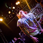 """Andrew Carey from the Metalcore-Band """"Evergreen Terrace"""" live in Berlin"""