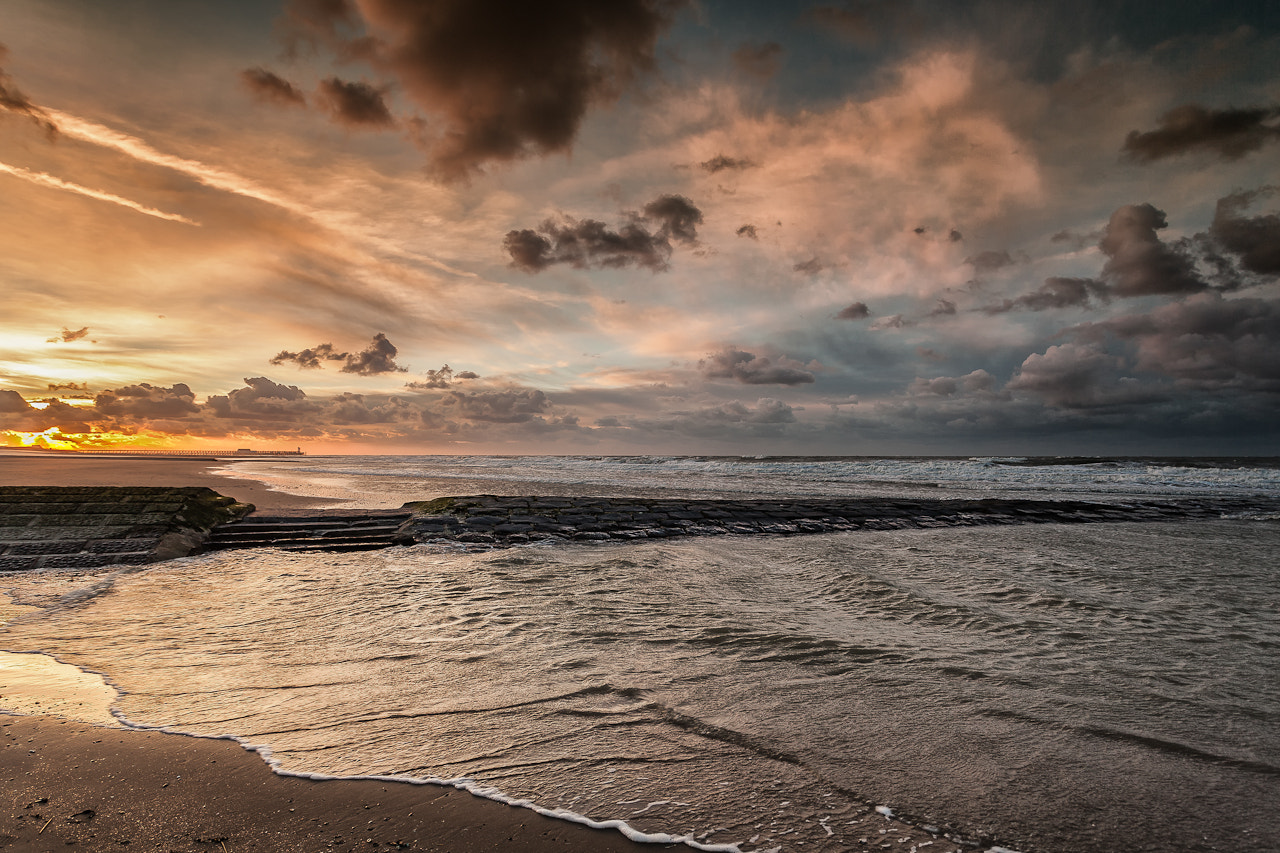 Photograph Evening Belgian Coast by Christophe Vandeputte on 500px