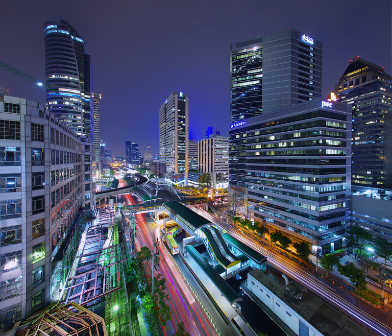 Photograph Sathorn Empire by WK Cheoh on 500px