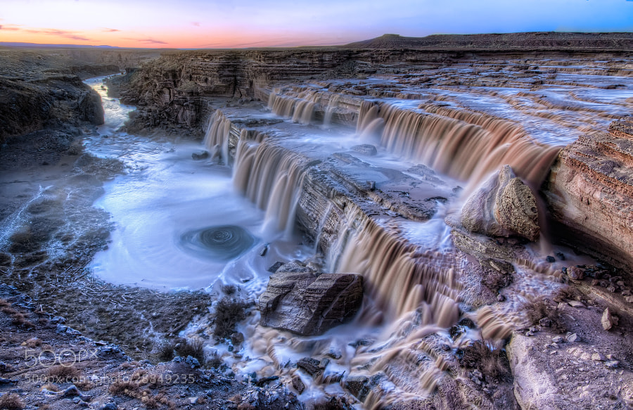 Photograph Last Call at Chocolate Falls by Michael Wilson