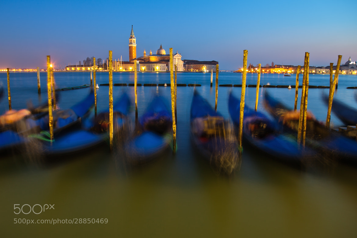 Photograph Venice at blue hour by Christian Müller on 500px