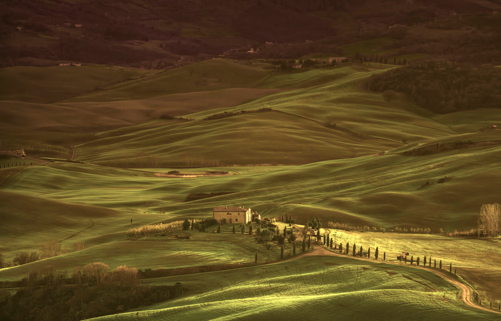 Photograph Val d'Orcia by laura  malucchi on 500px
