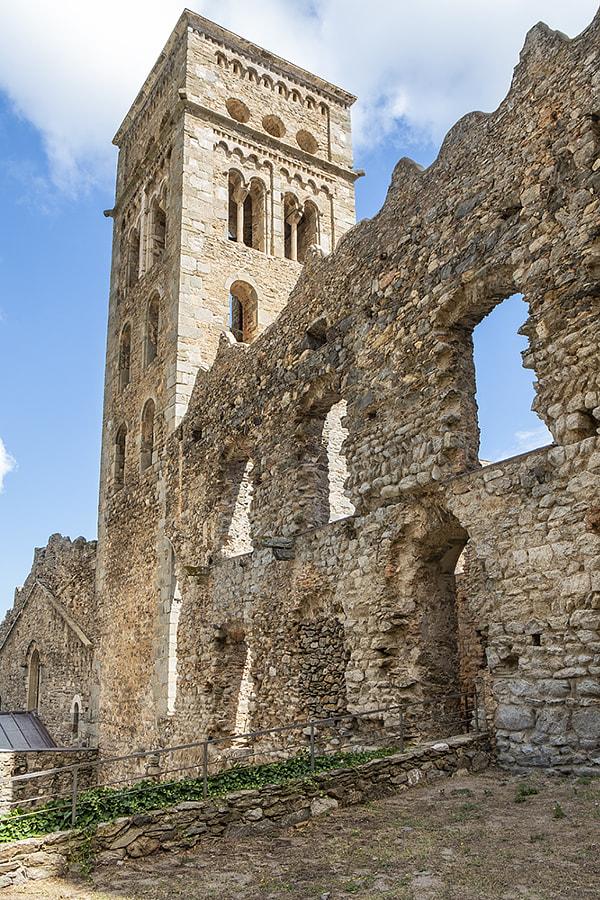 San Pere de Rhodes by Ana V. on 500px.com