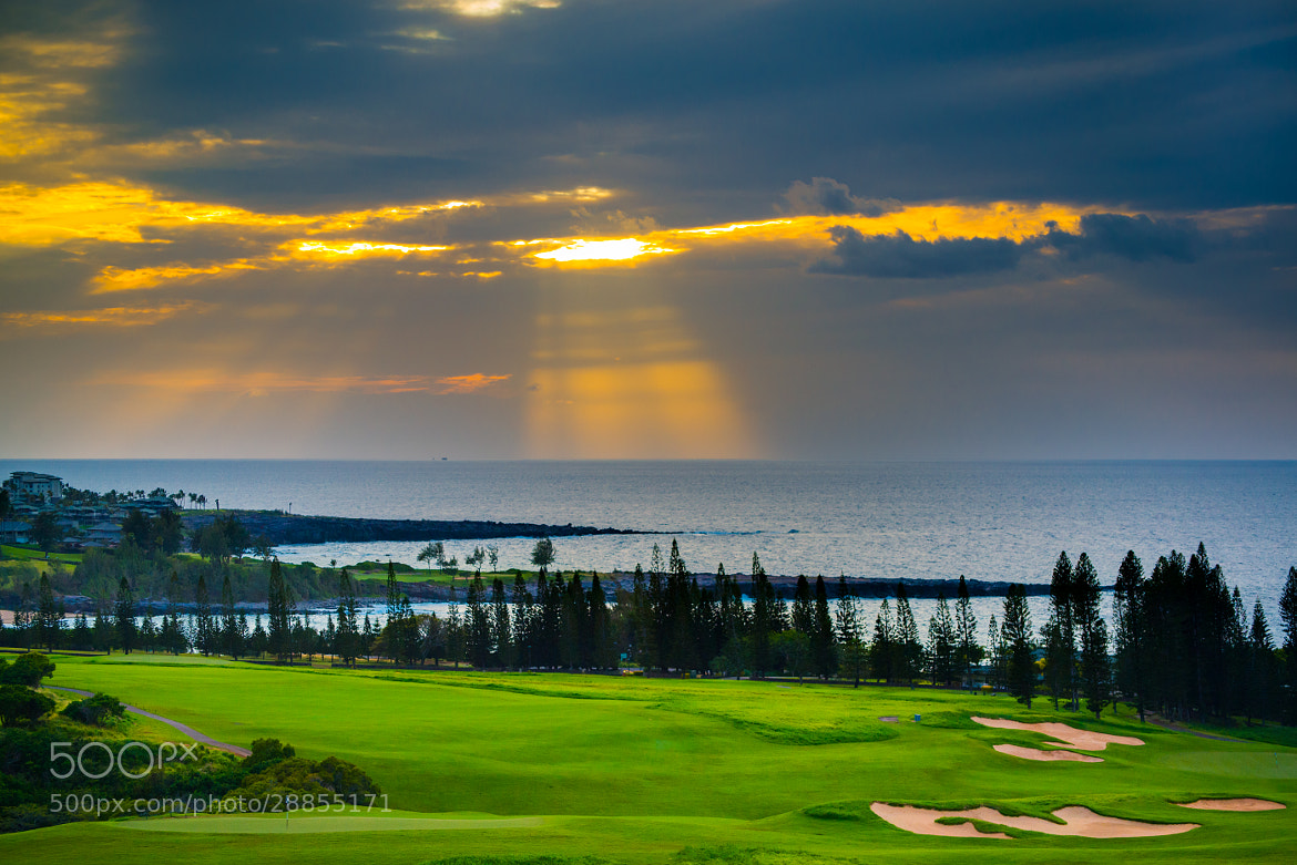 Photograph Kapalua Sun Beam by Colin Bishop on 500px
