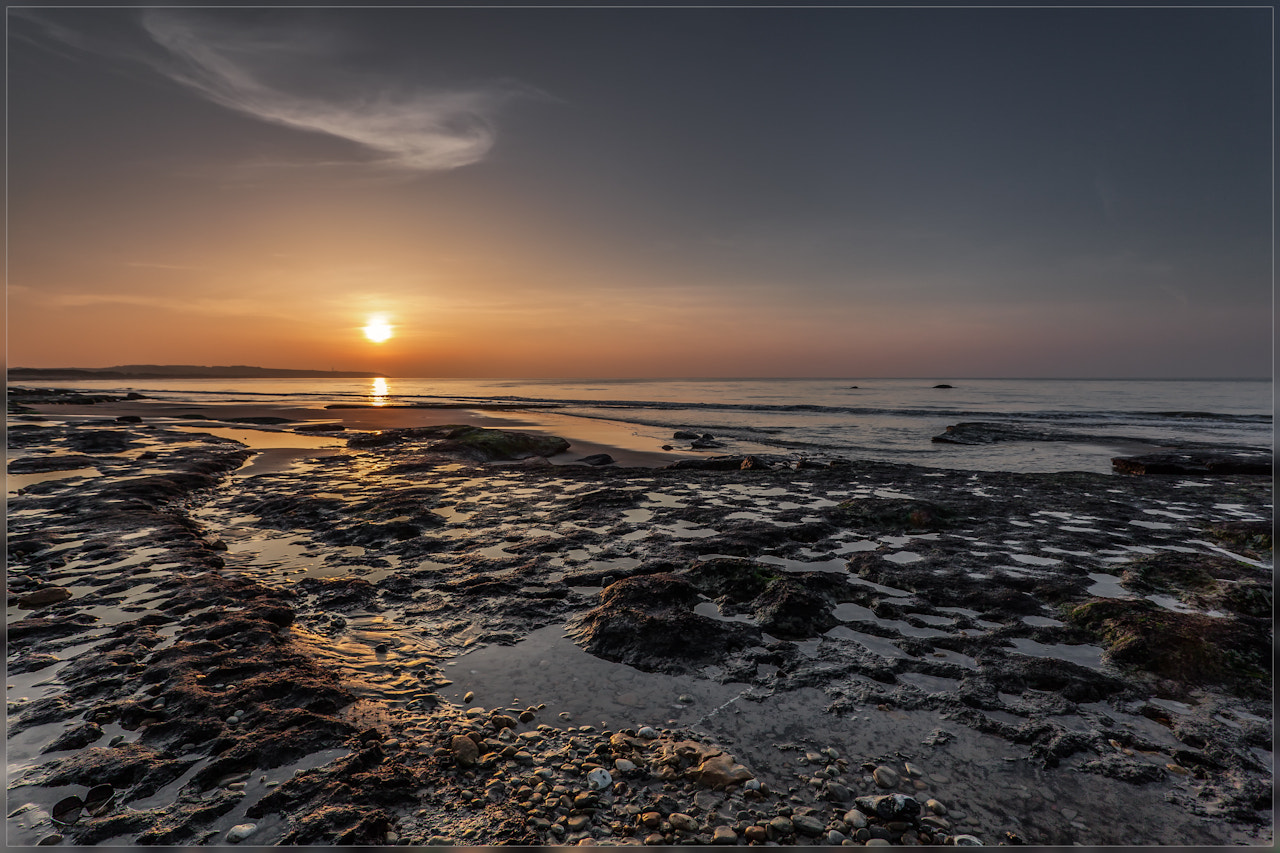 Photograph Sunset Opal Coast by Christophe Vandeputte on 500px