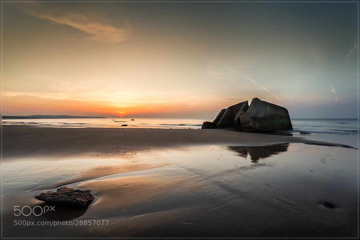 Photograph Sunset Wissant by Christophe Vandeputte on 500px