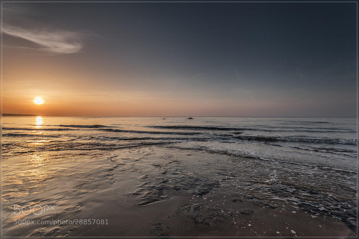 Photograph Sunset at Opal Coast by Christophe Vandeputte on 500px