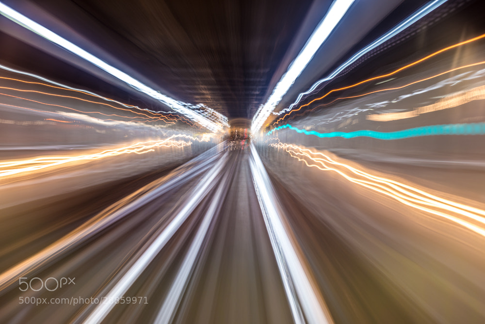 Photograph Lights from the subway #2 by Vino Photography on 500px