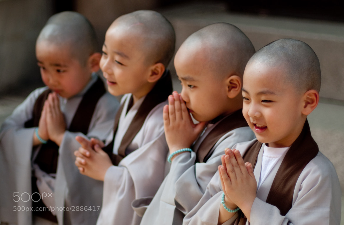 Photograph little monks  by Derek Winchester on 500px
