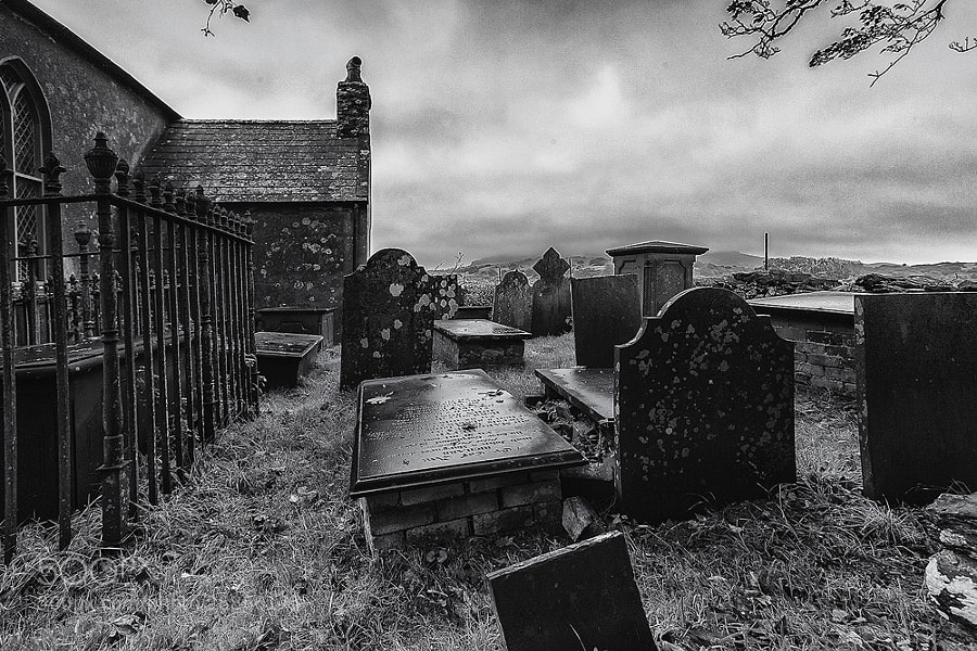 Graveyard in the Hills of Wales (GB) by Ulrich Schön (RavenBlack)) on 500px.com