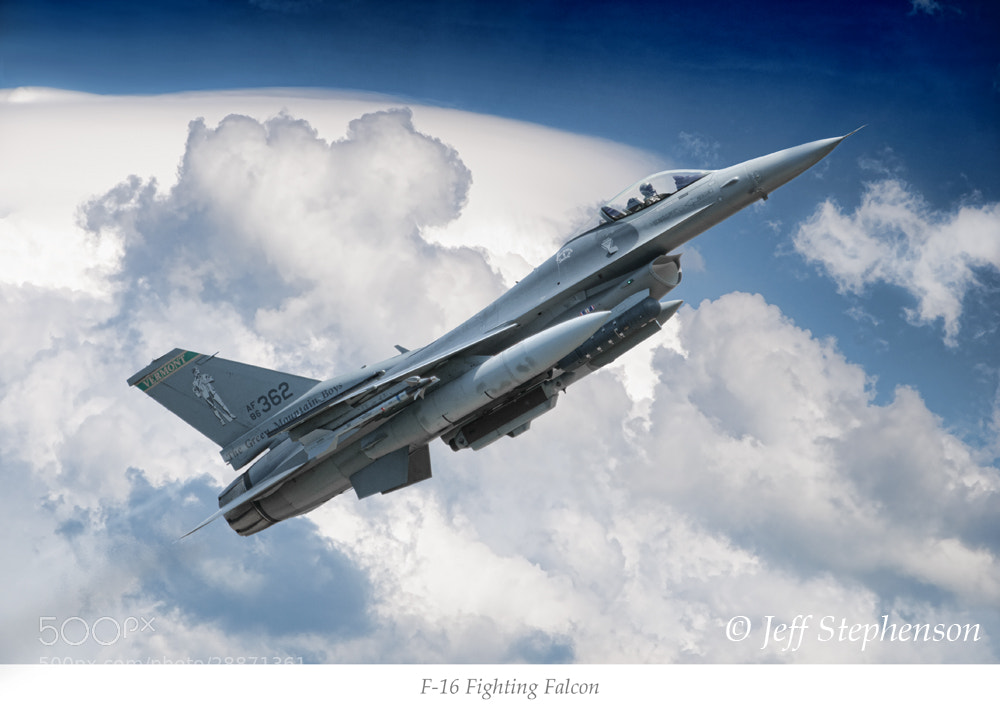 Photograph F-16 Fighting Falcon by Jeff Stephenson on 500px