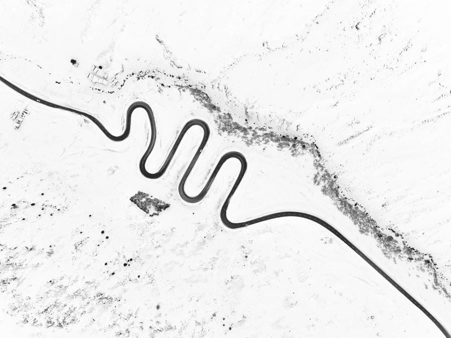 Winter drive by Chris Herzog on 500px.com