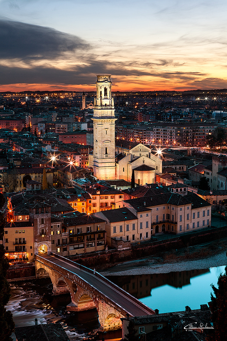 Photograph Ponte Pietra by Giuliano Cattani on 500px