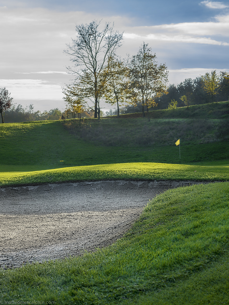 Photograph Golf bunker by matteo mescalchin on 500px