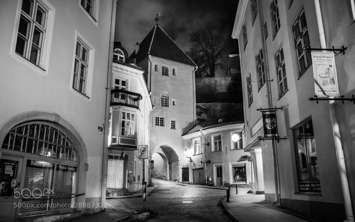 Photograph Tallinn in Black and White by Wojtek Kalka on 500px