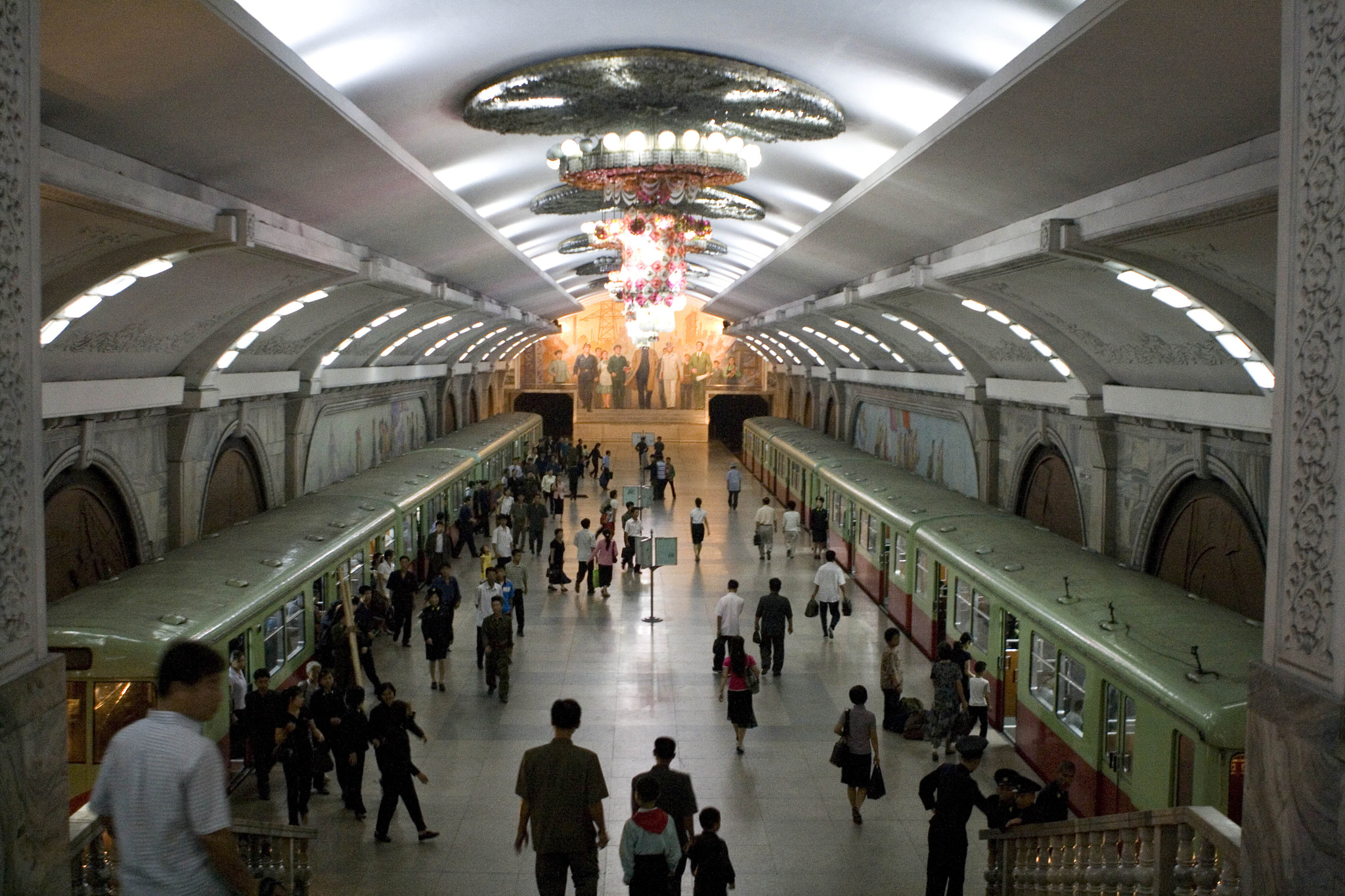 Photograph Pyongyang Subway by Shannon Ley on 500px