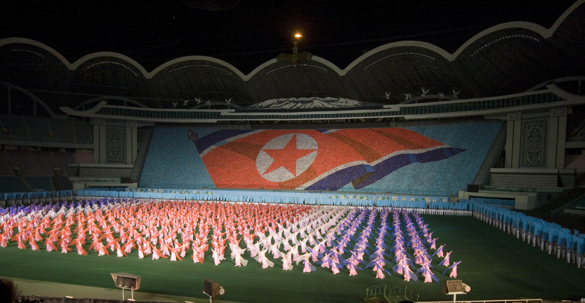 Photograph Arirang Mass Games, North Korea by Shannon Ley on 500px