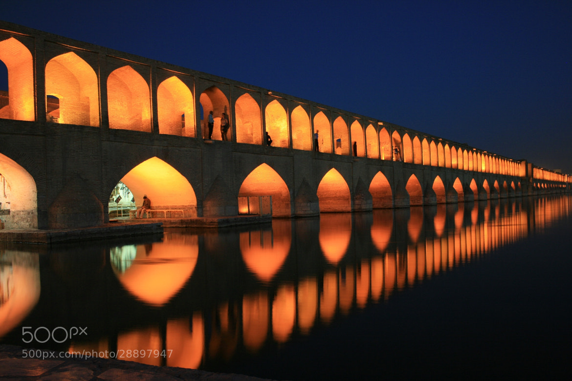 Photograph Esfahan Bridge by Shannon Ley on 500px