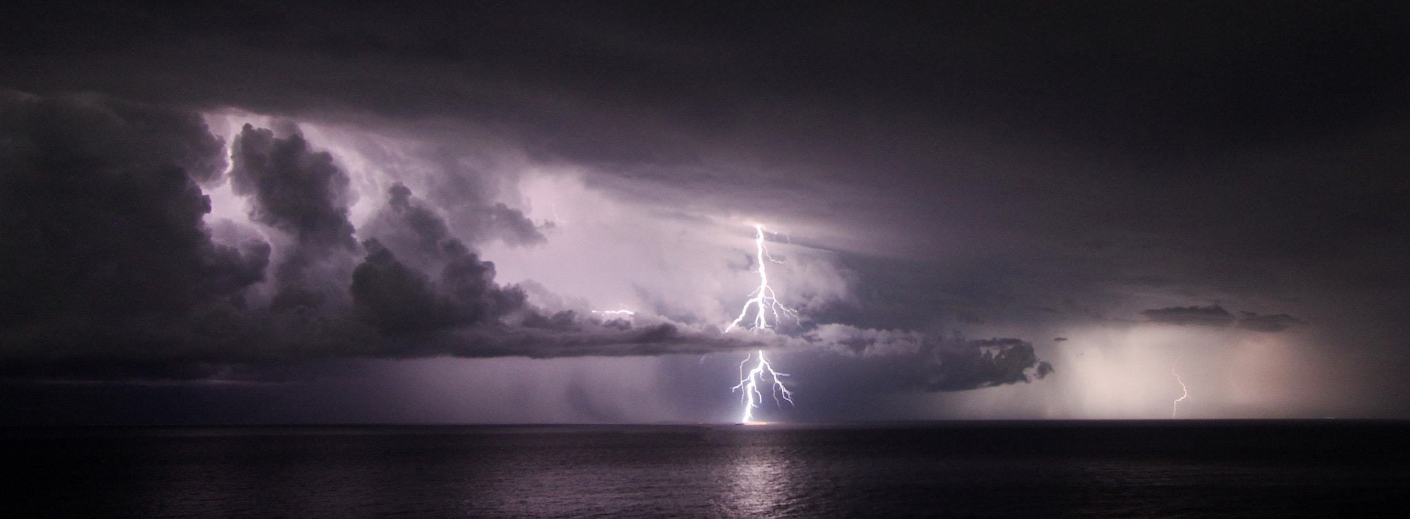 Photograph Lightning over Byron Bay by Shannon Ley on 500px