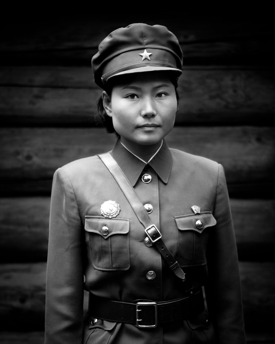 Photograph Femal North Korean Soldier by Shannon Ley on 500px