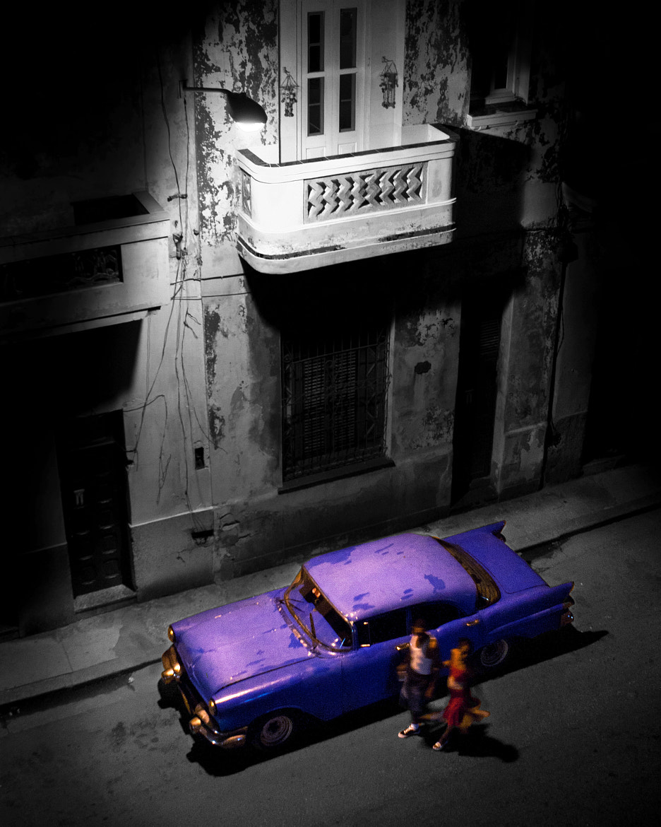 Photograph Cuban old timer by night by Shannon Ley on 500px