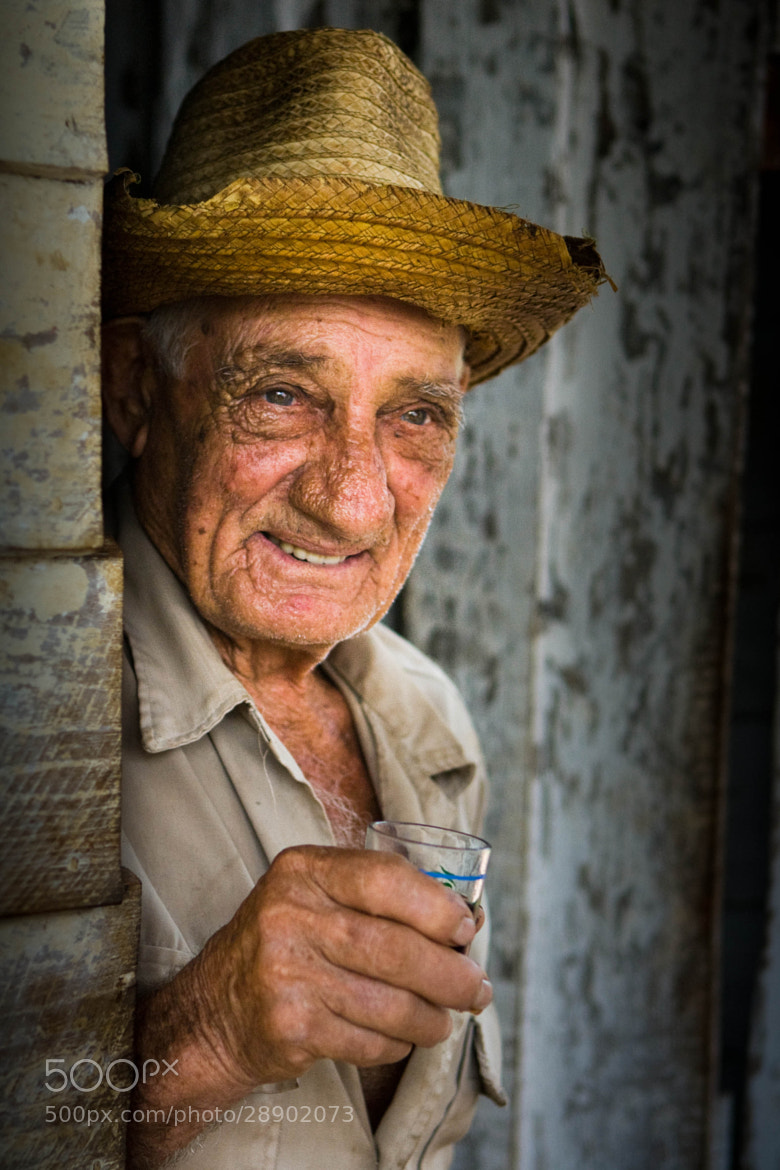 Photograph Cuban man by Shannon Ley on 500px