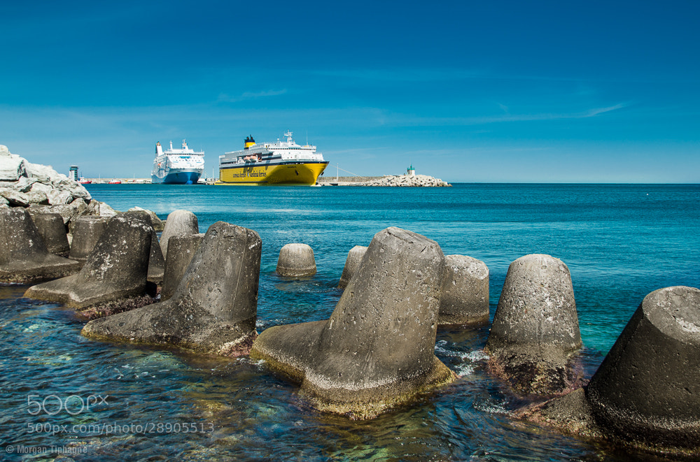 Photograph Tetrapods II by Morgan Tiphagne on 500px