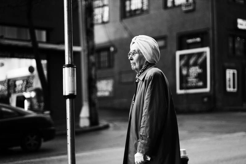 Photograph Lady Waiting for the Bus by Tatum Wulff on 500px