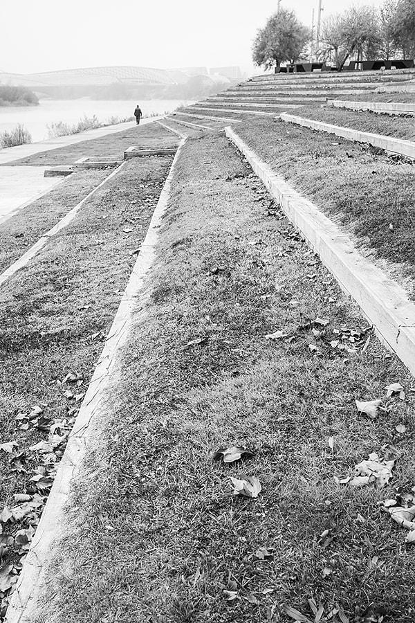 Lines towards the fog by Ana V. on 500px.com