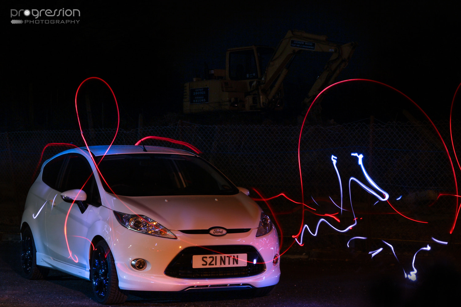 Photograph Ford Fiesta Light Experimentation by Tom Crane on 500px