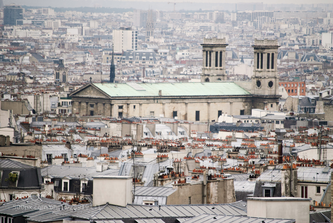 Photograph Above the Roofs of Paris by Sven Bannuscher on 500px