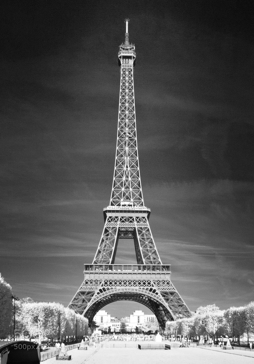 Photograph Paris: Eiffel Tower IR by Sven Bannuscher on 500px