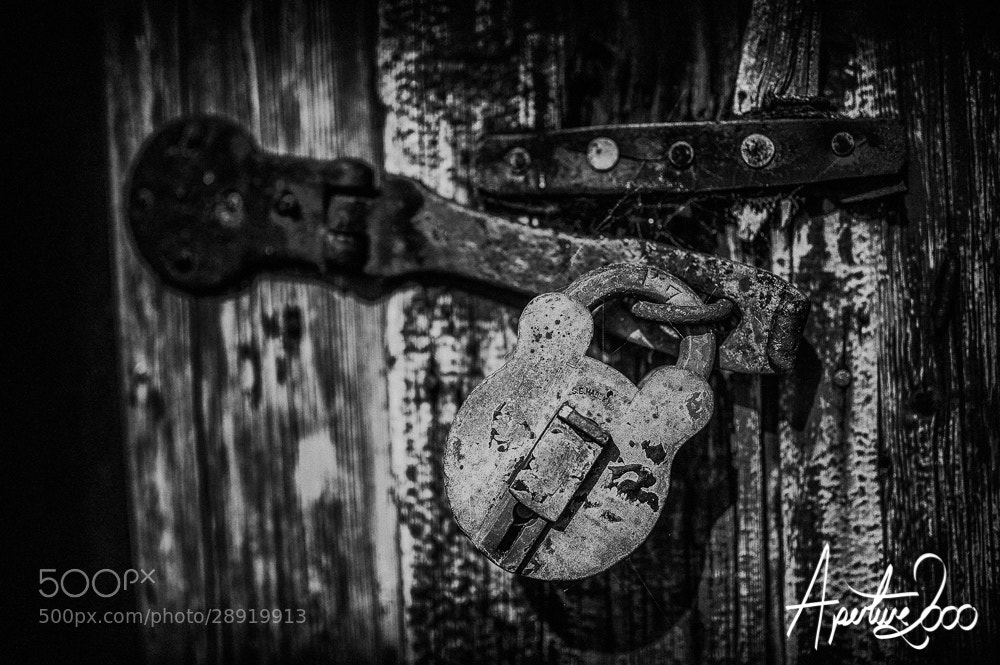 Photograph Old Lock by Colin Carter on 500px